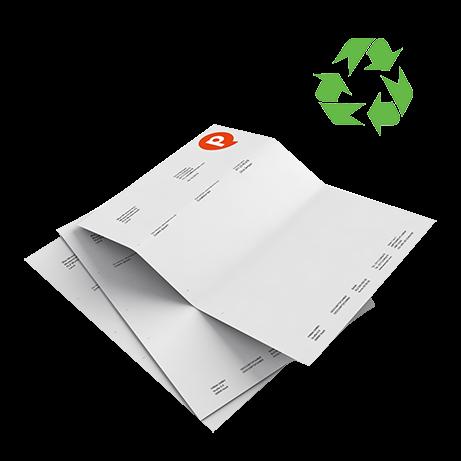 Briefpapier | einseitig bedruckt